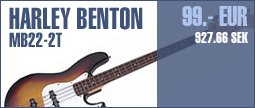 Harley Benton JB-20 SB Standard Series