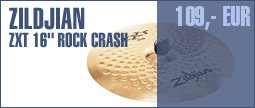 "Zildjian ZXT 16"" Rock Crash"