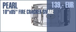 Pearl 10&quot;x05&quot; Fire Cracker Snare