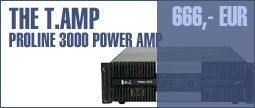 the t.amp Proline 3000