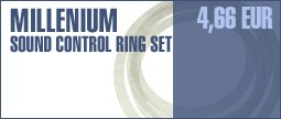 Millenium Sound Control Ring Set Fusion