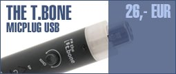 the t.bone MicPlug USB