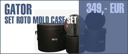 Gator Set Standard Roto Mold Drum