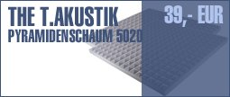 the t.akustik 5020 Pyramid 2pcs Set