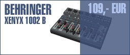 Behringer Xenyx 1002 B