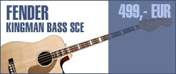 Fender Kingman Bass SCE