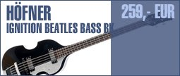 Hfner Ignition Beatles Bass BK