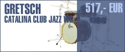 Gretsch CT-J484-WG Club Jazz Set