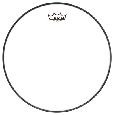 "Remo 20"" Ambassador Clear Bass Drum Fell"