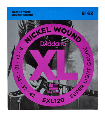 Daddario EXL120