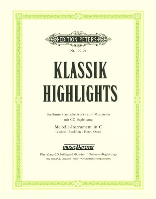 C.F. Peters Klassik-Highlights Recorder