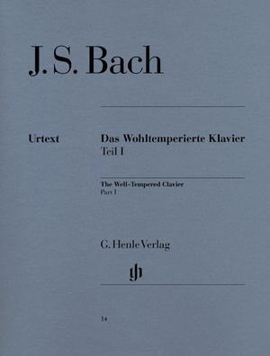 Henle Verlag Bach Wohltemperiert Klavier I