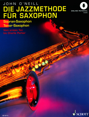 Schott die Jazzmethode fr Saxophon