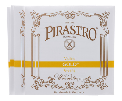 Pirastro Gold Violin Strings 4/4