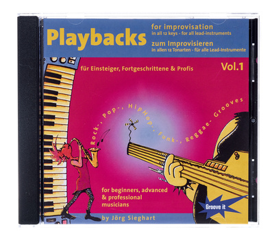 Tunesday Records Playbacks zum improvisieren Volume 1