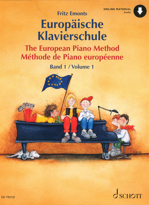 Schott Europische Klavierschule 1