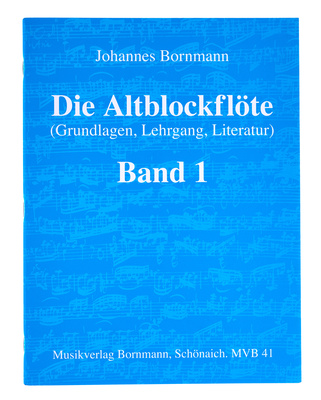 Johannes Bornmann Die Altblockflte 1