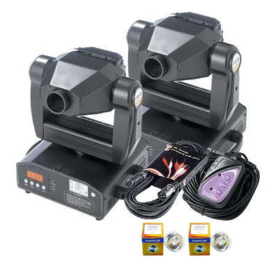 Stairville Moving Head 2pcs Set 1. MV250H