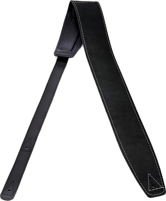 Harley Benton Guitar Strap Suede Black