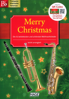 Hage Musikverlag Merry Christmas (BB-Instr.)