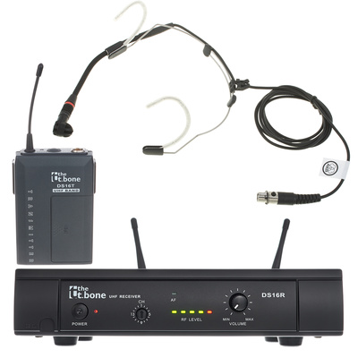 the t.bone TWS/AKG C555 863 MHz Set