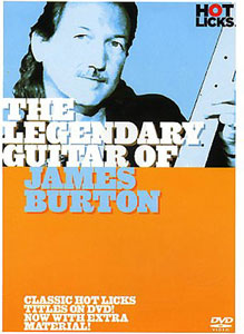 Music Sales The Legendary Guitar J.Burton