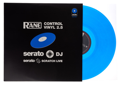 Rane Serato Vinyl Blue