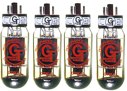 Groove Tubes 6L6S Quartett