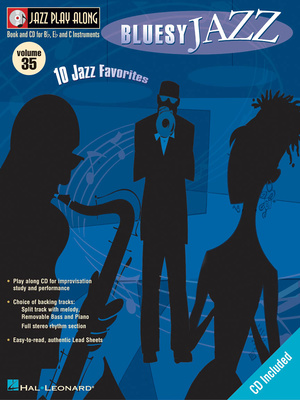 Hal Leonard Jazz Play Along Blues Jazz