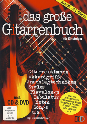 3D Verlag Das groe Gitarrenbuch