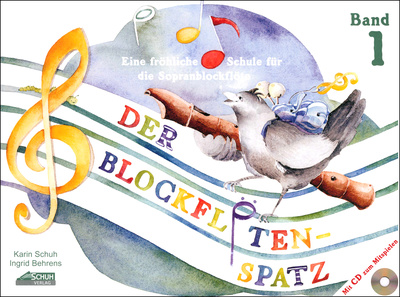 Schuh Verlag Der Blockfltenspatz Bd.1 CD