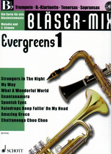 Schott Blser-Mix Evergreens Vol.1 Bb