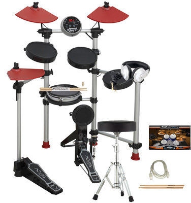 Millenium Hd100 Starter E-Drum Bundle