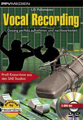 PPV Medien Vocal Recording DVD