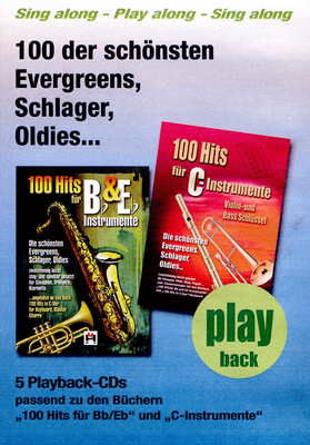 Hildner Musikverlag 100 Hits Playback CDS