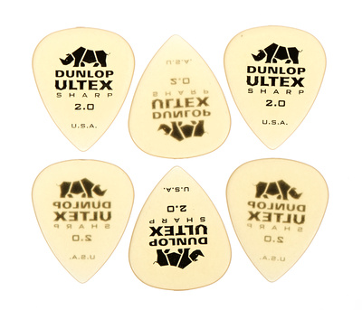 Dunlop Ultex Sharp Player's Picks 2.0