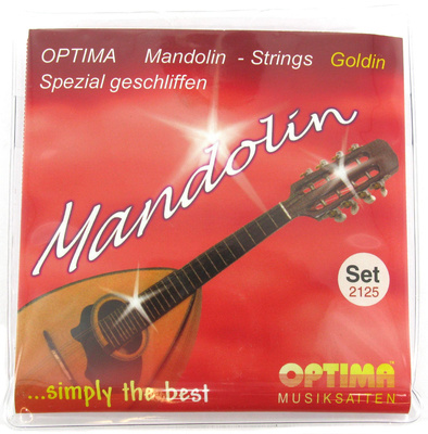 Optima Mandolin Strings Goldin