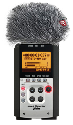 Zoom H4 N Rycote Bundle