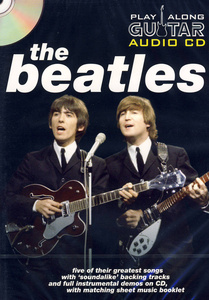 Music Sales Play-Along Guitar Beatles