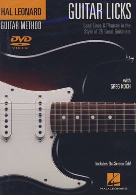 Hal Leonard Guitar Licks DVD