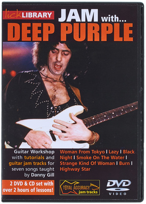 Music Sales Jam With Deep Purple DVD