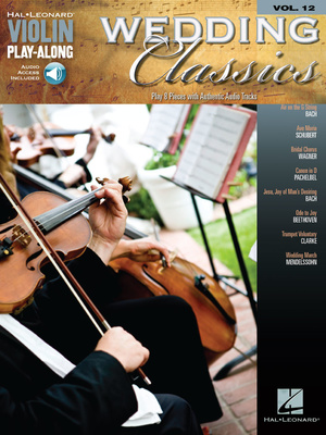 Hal Leonard Wedding Classics f. Violin