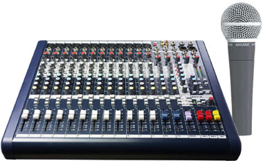 Soundcraft MFXI 12 Bundle