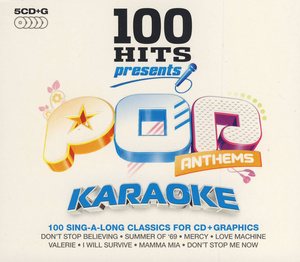 World of Karaoke 100 Hits Pop Anthems 5er Set