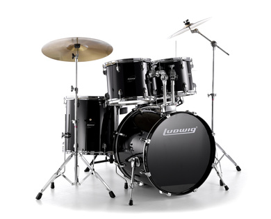 Ludwig LC125-BK Accent CS Power Kit