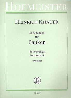Friedrich Hofmeister Verlag 85 bungen Pauken