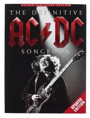 Music Sales AC/DC Defenitive Songbook UP.