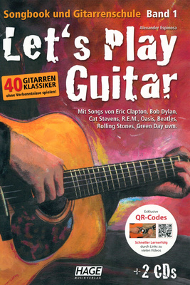 Hage Musikverlag Let&acute;s Play Guitar