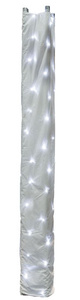 Showtec Star Sky Truss Sleeve 3m White