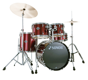 Sonor Smart Force Wine Red Combo